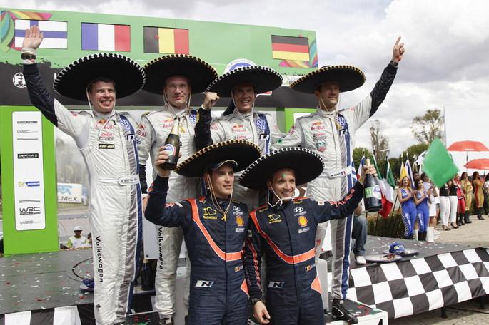 La Volkswagen conquista il Rally del Messico