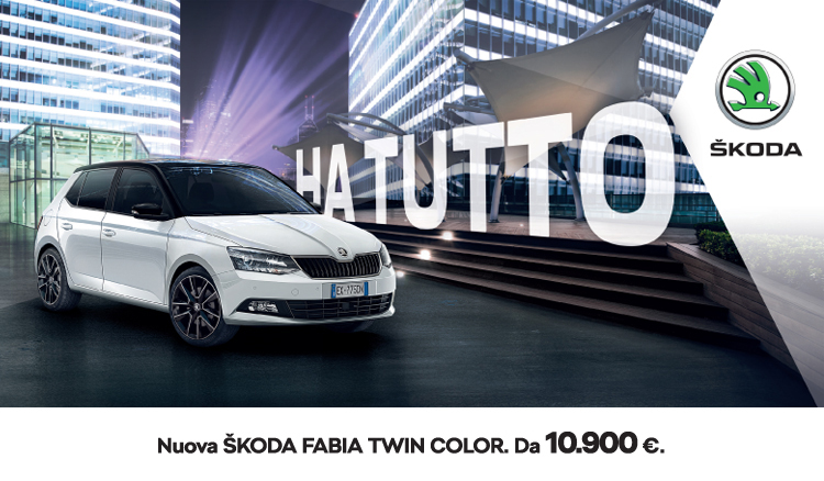 ŠKODA Fabia Twin Color