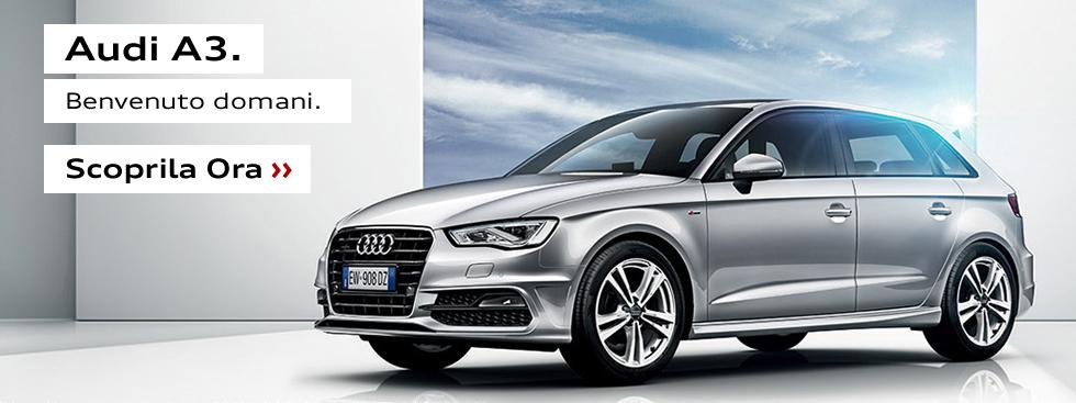 Audi A3. Benvenuto Domani.