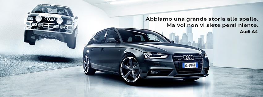 Audi A4 tua da 340 euro al mese