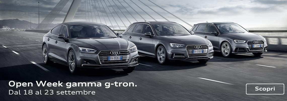 Da oggi il metano è un gas nobile. In arrivo Audi A4 g-tron e A5 g-tron