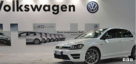 Volkswagen al Motor Show di Bologna
