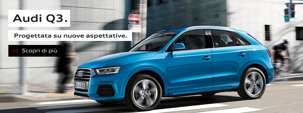 Audi Q3. Progettata su nuove aspettative.
