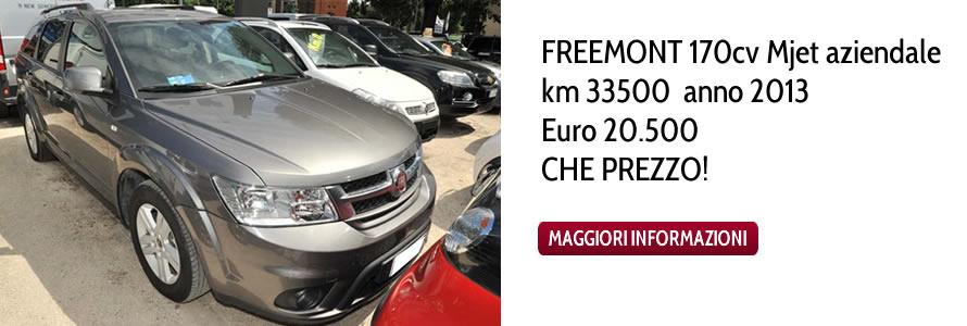 FREEMONT 170cv Mjet Eur 20.500 CHE PREZZO !