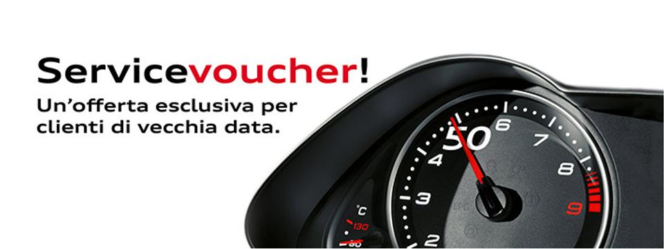 Audi Service Voucher