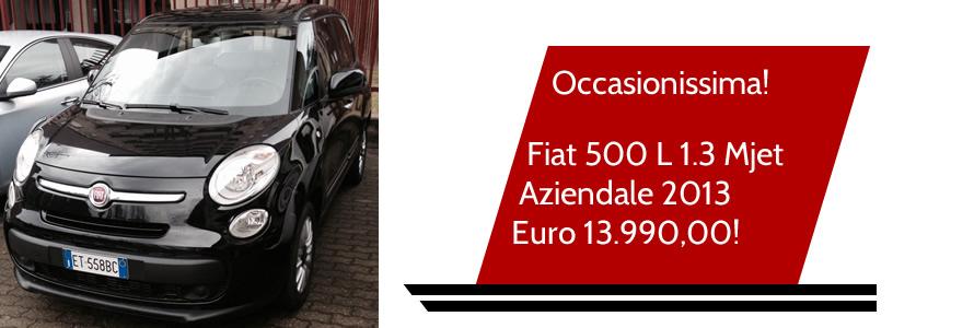 Fiat 500 L 1.3 Mjet  Aziendale 2013  Euro 13.990,00!