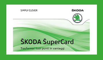 Fidelity card di ŠKODA