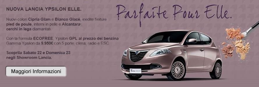 Nuova Lancia Ypsilon Elle