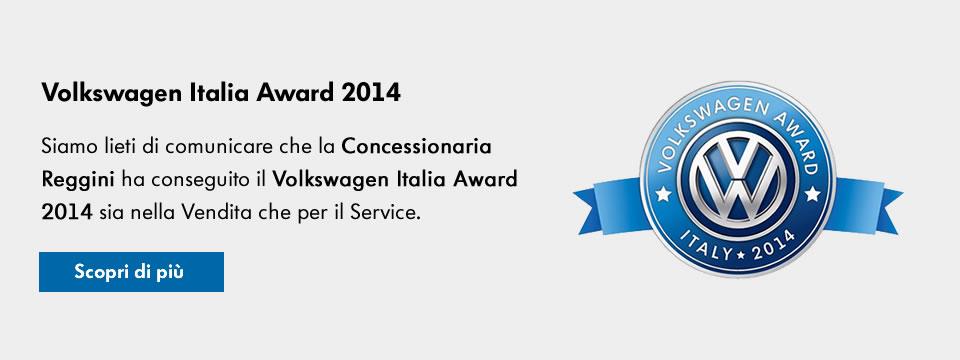 Volkswagen Award 2014