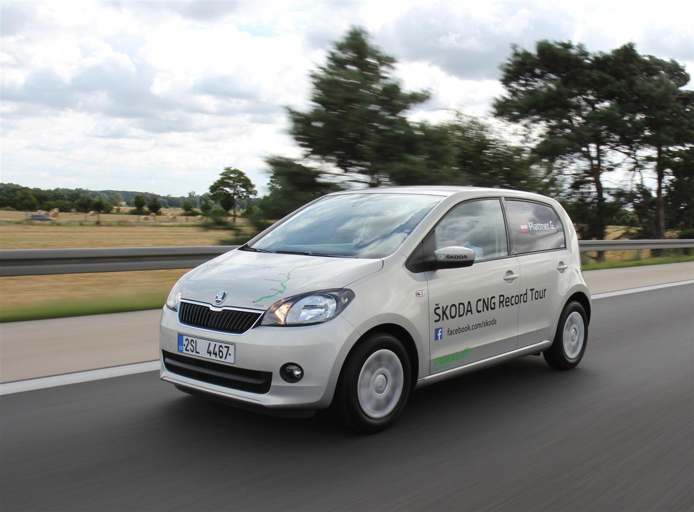 ŠKODA Citigo: meno di 100 Euro di carburante per oltre 2.500 km