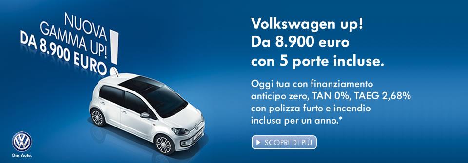 Promozione up! Volkswagen
