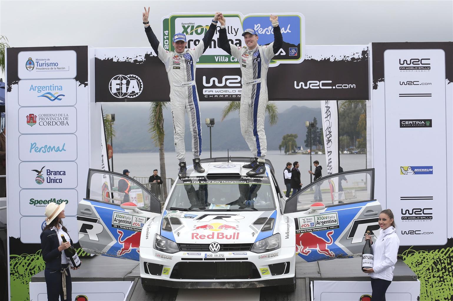 La Polo R WRC trionfa al Rally di Argentina