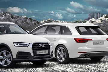Audi Q3 e Audi A4 autocarro deducibili fino al 100%
