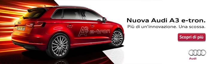 Nuova Audi A3 e-tron