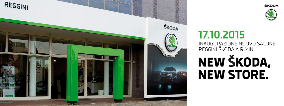 New Škoda Store Reggini