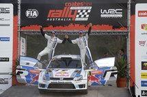 Ogier e la Polo R WRC vincono il Rally d'Australia
