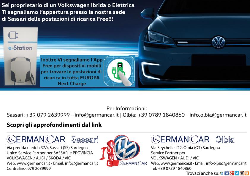 Postazioni ricarica Elettrica per Volkswagen - Audi - Skoda
