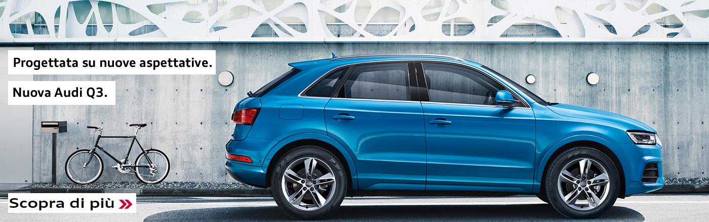 Nuova Audi Q3.