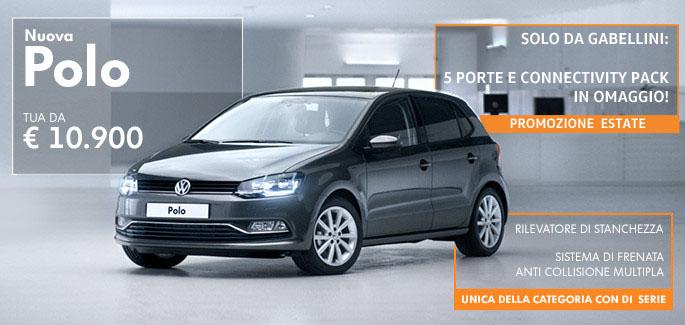 Nuova Polo! Tua da € 10.900, 5 porte e Connectivity Pack in Omaggio!