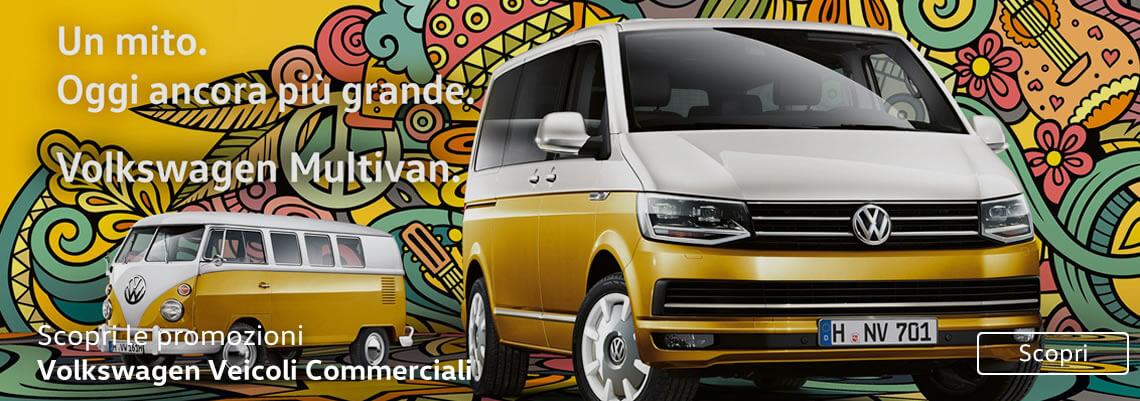 Scopri le promozioni Volkswagen Veicoli Commerciali