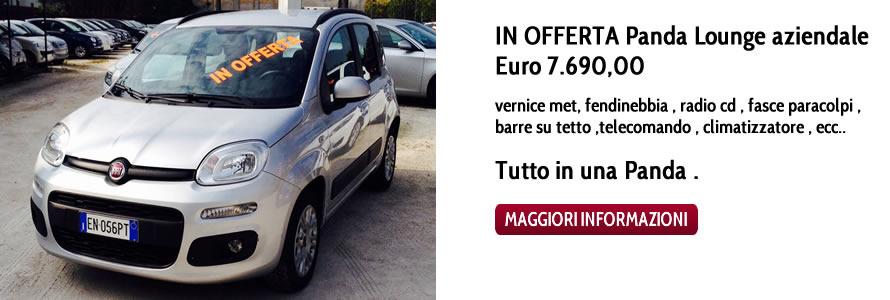 IN OFFERTA Panda Lounge aziendale  Euro 7.690,00