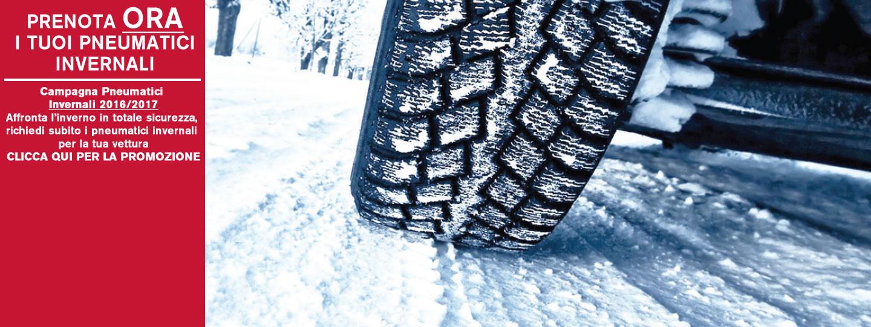 Prenota ora i tuoi pneumatici invernali