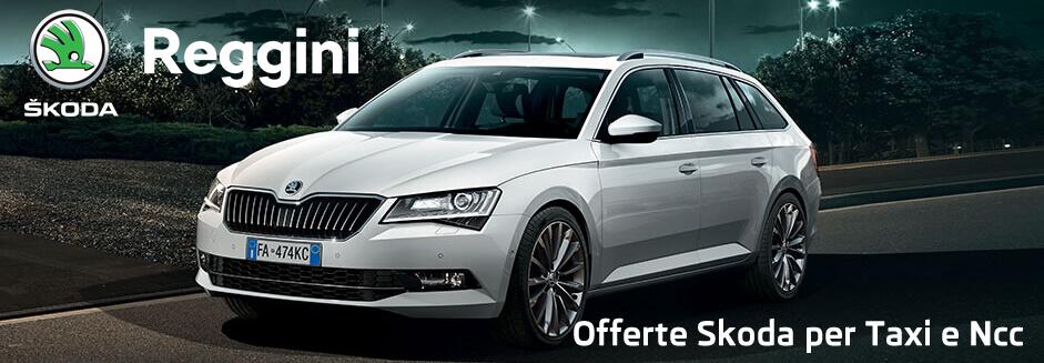 Offerta Škoda per Taxi e N.C.C