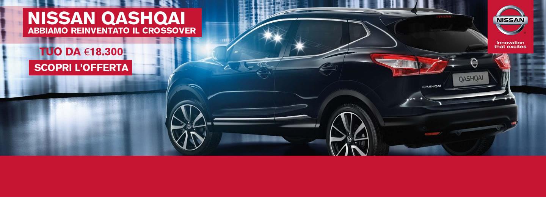 Nissan QASHQAI a partire da € 18.300