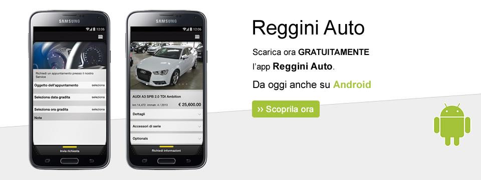 Reggini Auto - app Android
