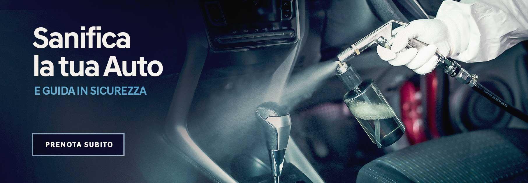 Sanifica la tua auto e guida in sicurezza