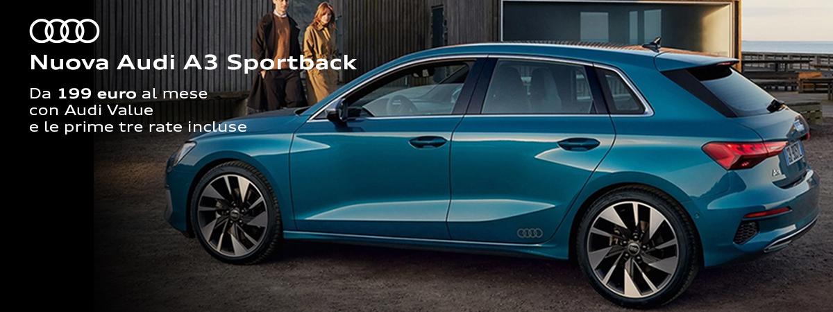Mandolini Audi - Nuova A3 Sportback
