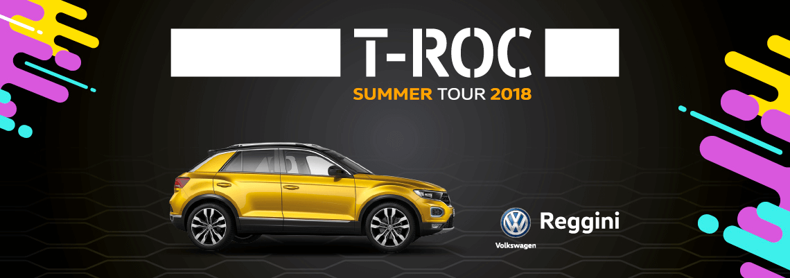 T-Roc Summer Tour 2018