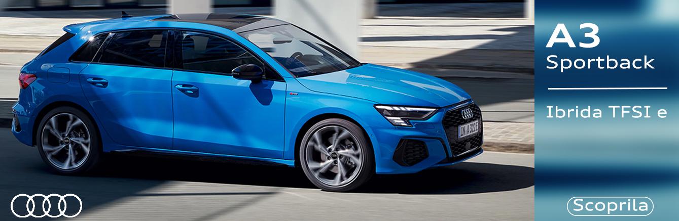Nuova A3 Sportback TFSI e