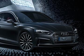 Gamma Audi A5 con finanziamento a tasso 0 ed extra vantaggio fino a € 3.355