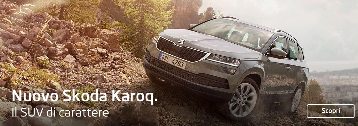 Nuovo Skoda Karoq. Il SUV di carattere.