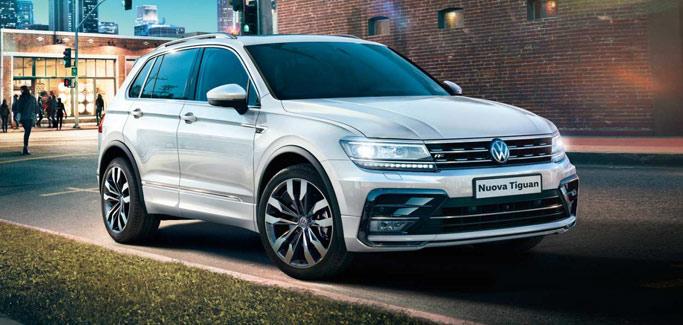 Volkswagen Tiguan Sport 1.6 TDI tua da €369 al mese