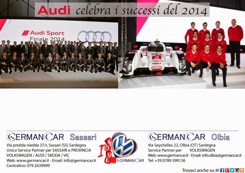 AUDI celebra i successi del 2014