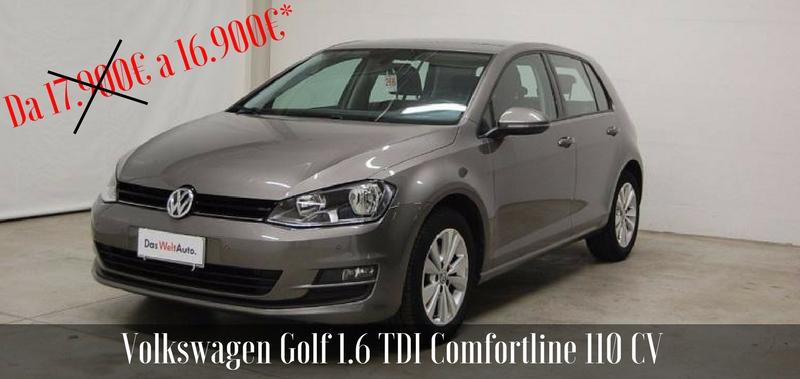 Promozione Usato Volkswagen Golf