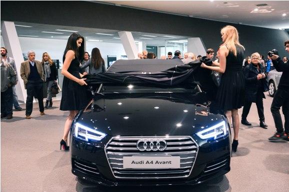 13 novembre 2015 –  Mandolini Auto presenta la nuova Audi A4