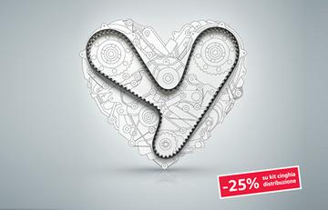 -25% su kit cinghia di distribuzione