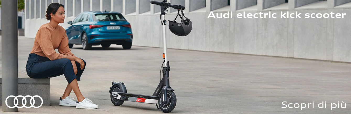 Il nuovo Audi electric kick scooter.