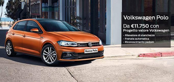 Volkswagen Polo tua a partire da €11.750
