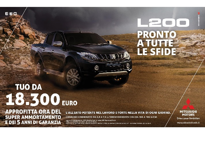 NUOVO PICK UP L200