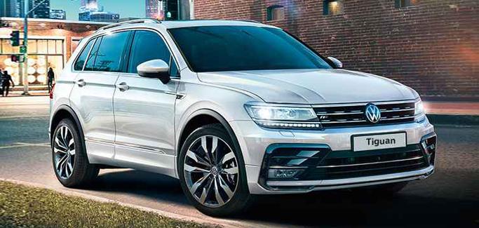 Volkswagen Tiguan 1.6 TDI Business da €267 al mese
