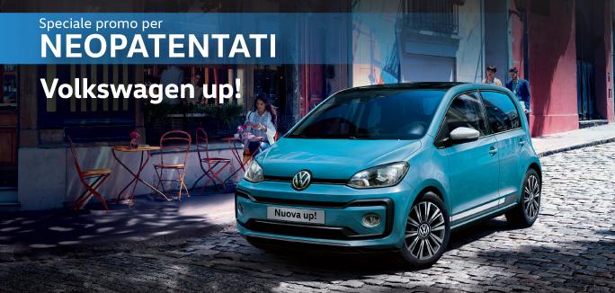Speciale Promo per Neopatentati - Volkswagen up! a €99 al mese