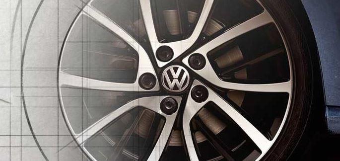 25% di sconto sui cerchi in lega originali Volkswagen