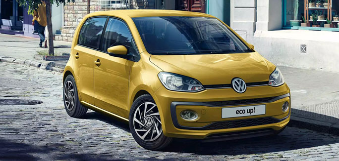 Volkswagen eco up! da €149 al mese