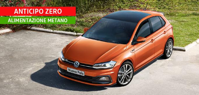 Volkswagen Polo a METANO! Tua a €250 al mese
