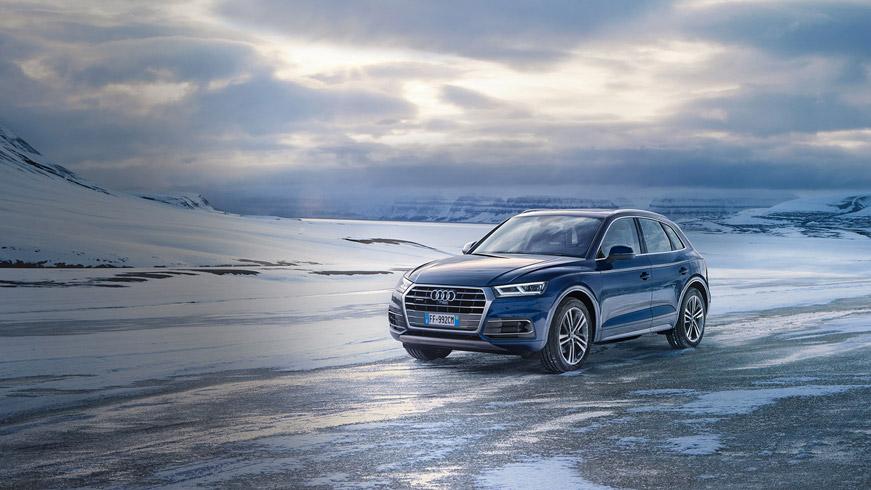 Audi Q5. quattro con tecnologia adattiva.