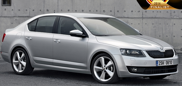 Nuova ŠKODA Octavia: finalista per il premio 'Car of the Year 2014'